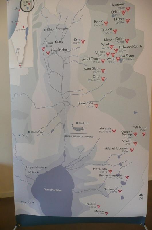 Map of wineries