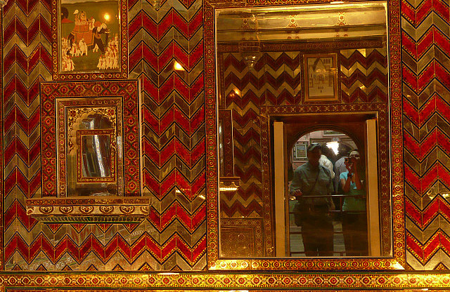 The mirror room