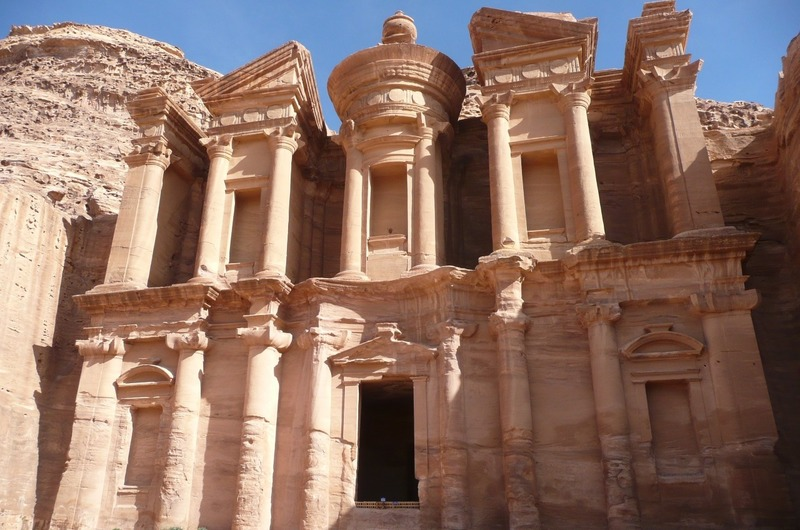 The Monastery - one of Petra's largest structures