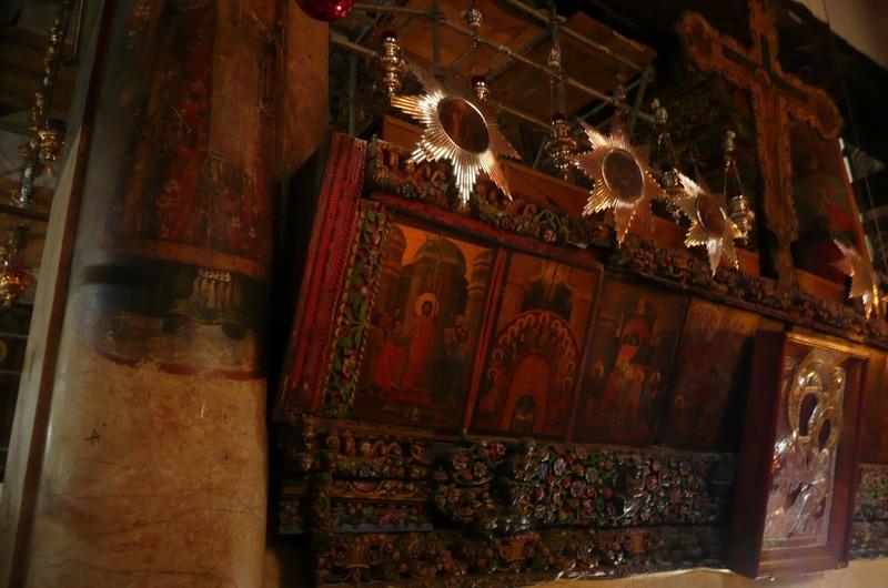 Inside Church of Nativity
