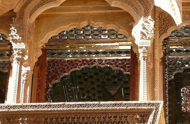 One of the floors of an ancient haveli