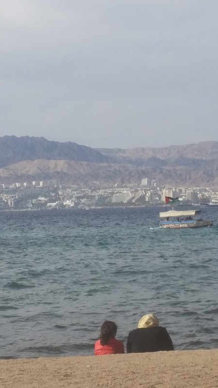 The beach - Eilat on the other side