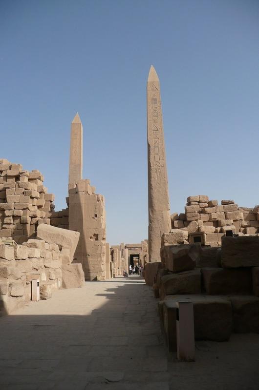 The obelisks that remain