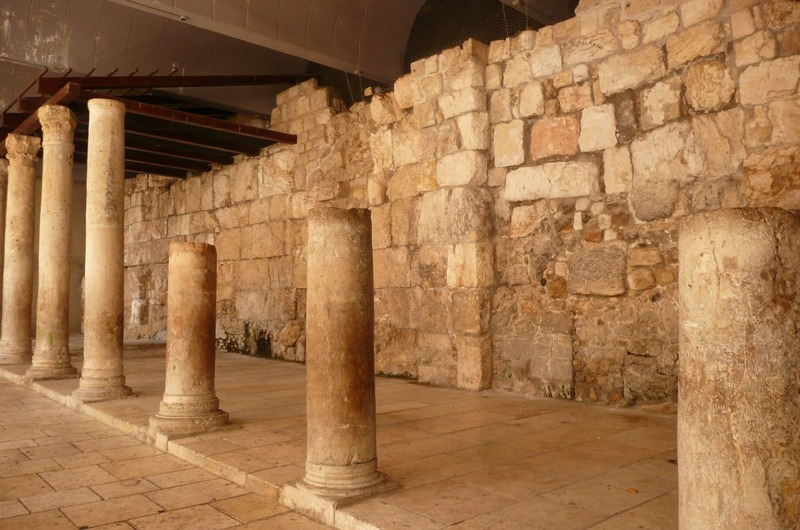 Excavation in Old Jerusalem