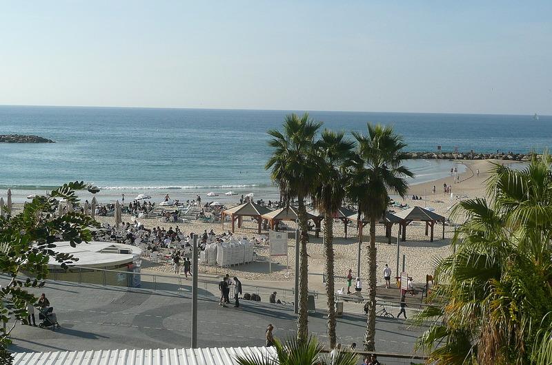 Tel Aviv - beach is 5 min. from hotel