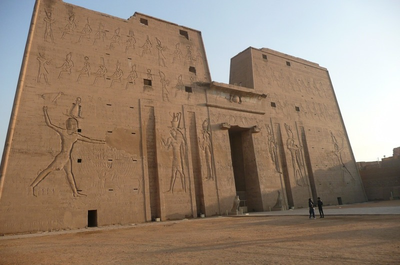 Entrance to Edfu
