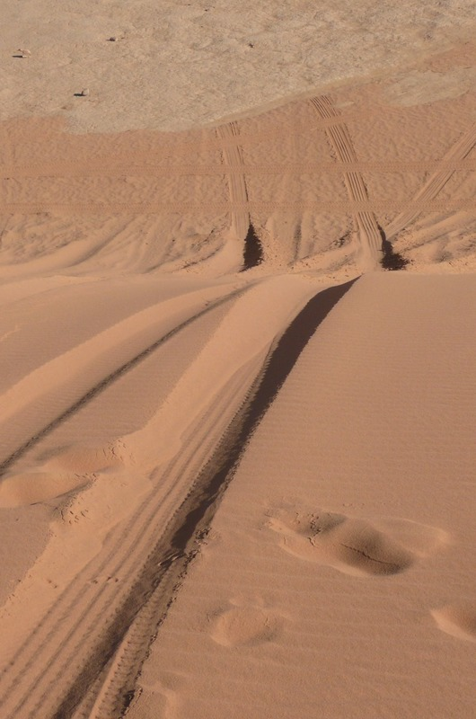 Up and over the dunes