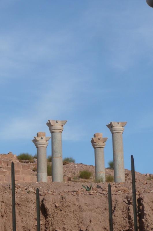 The Blue Columns