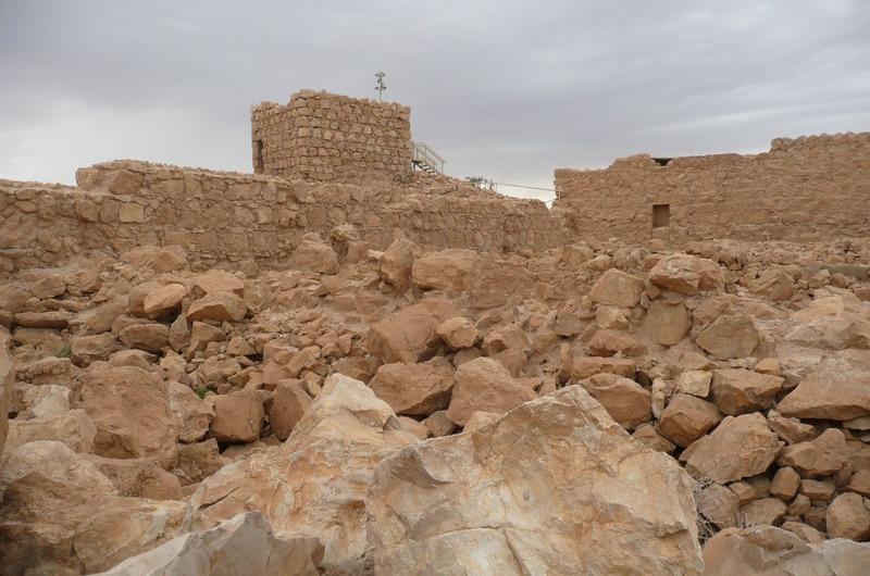Masada excavation