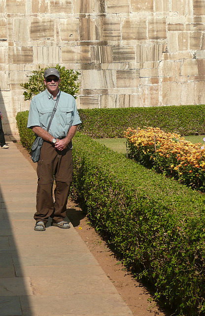 In the gardens of Padmini's palace