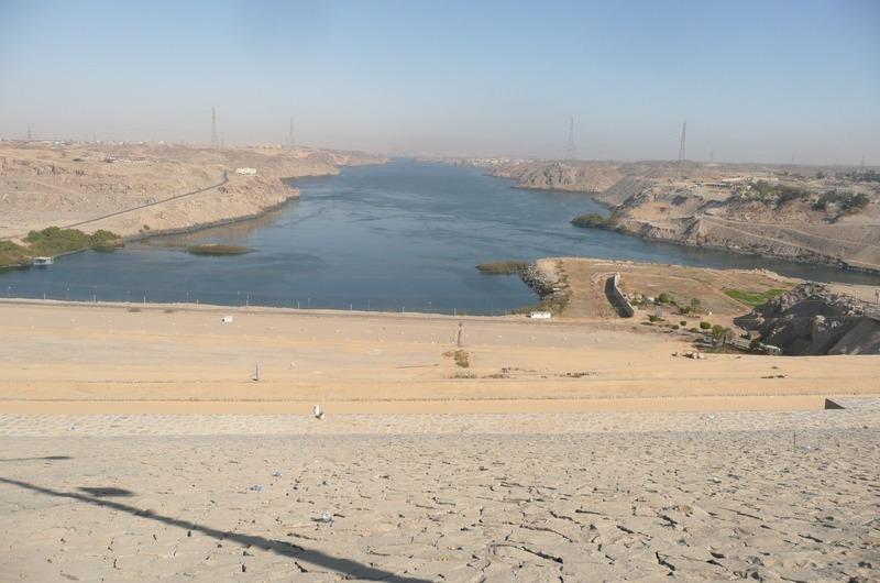Lake Nasser from the High Dam