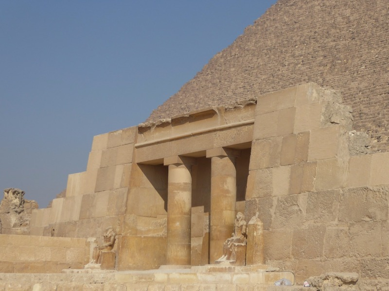 Entry to the Great Pyramid