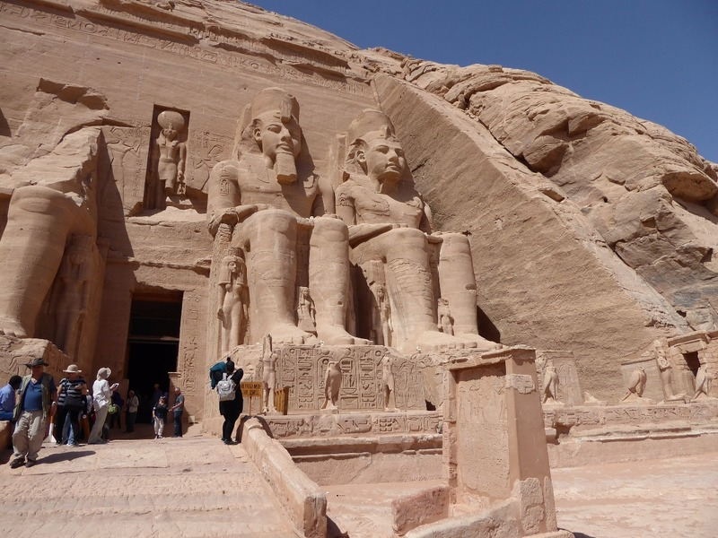 Entrance to Ramses II Temple