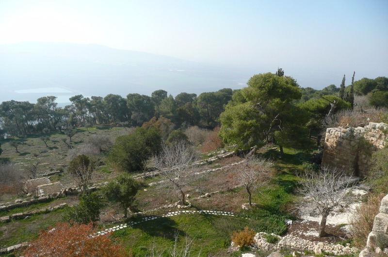 View point at Mount of Beatitudes