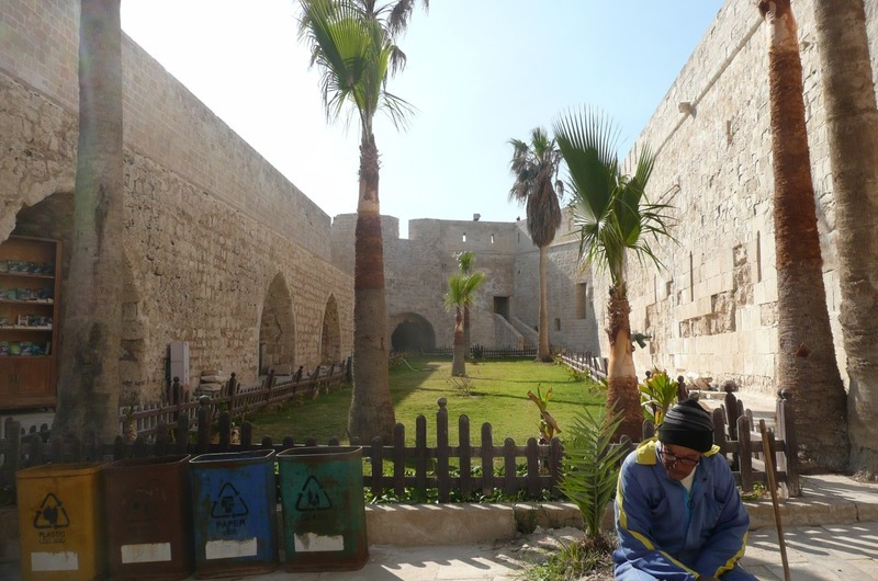 Courtyard of the fort