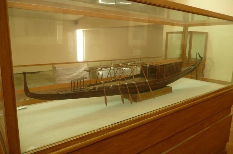 Scale model of Solar Boat