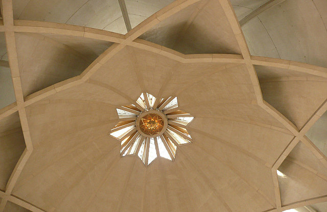 Ceiling of the Lotus Temple