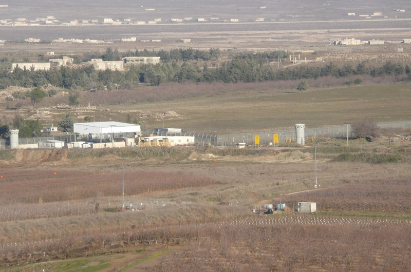 View of the Syrian Border