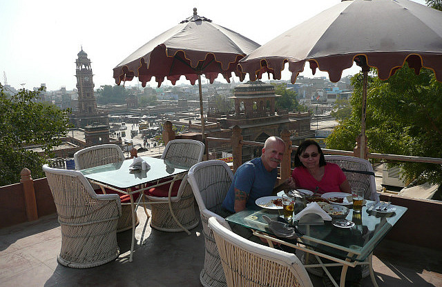 Lunch at Pal Haveli