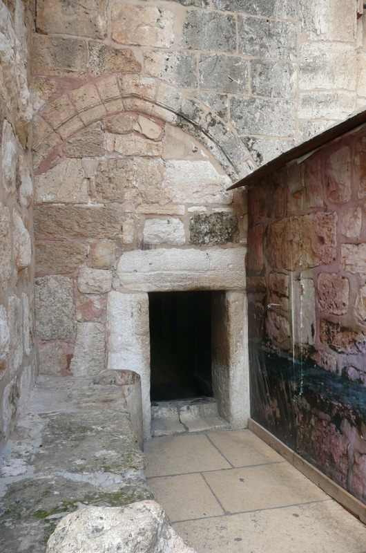 Entry to Church of Nativity