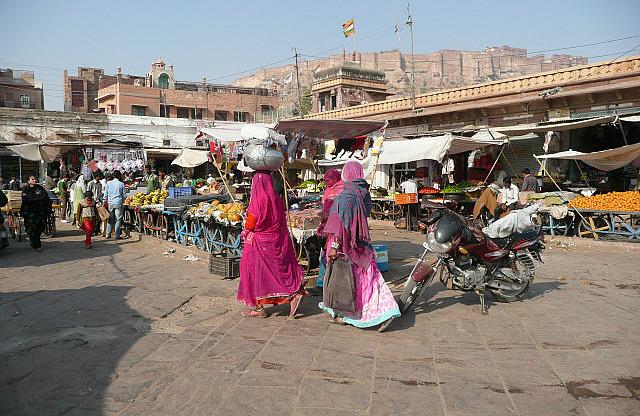 The market area