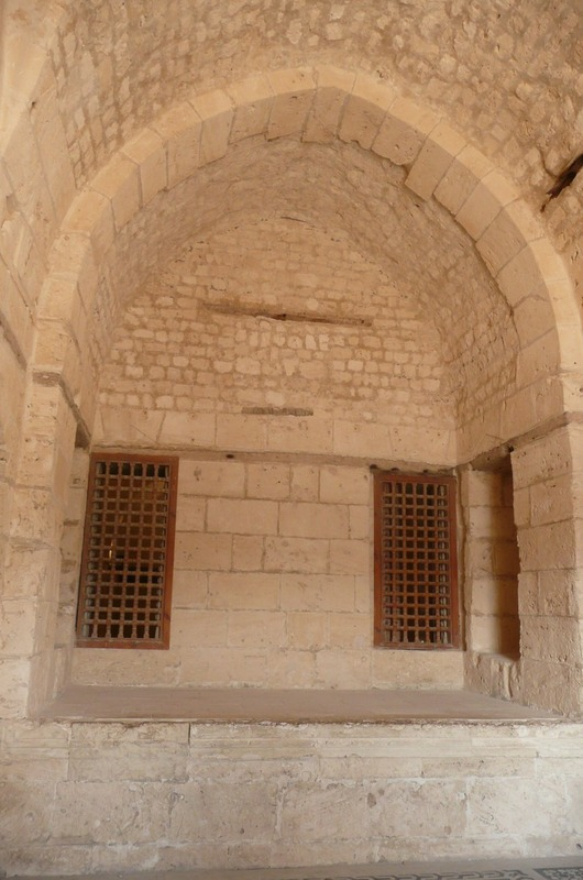 Inside the old mosque