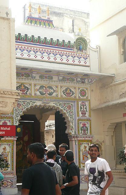 The main gate - freshly refurbished