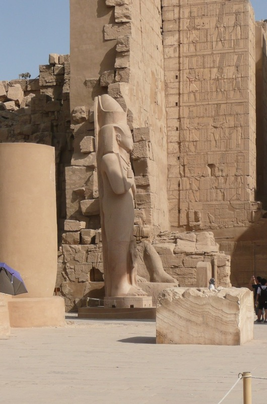 Some of the statuary