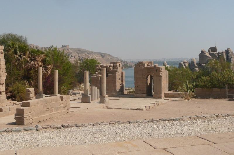Surrounding ruins