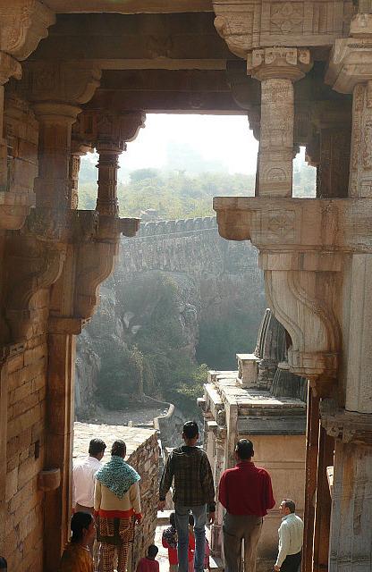 Water reservoir inside Chittigargh fort