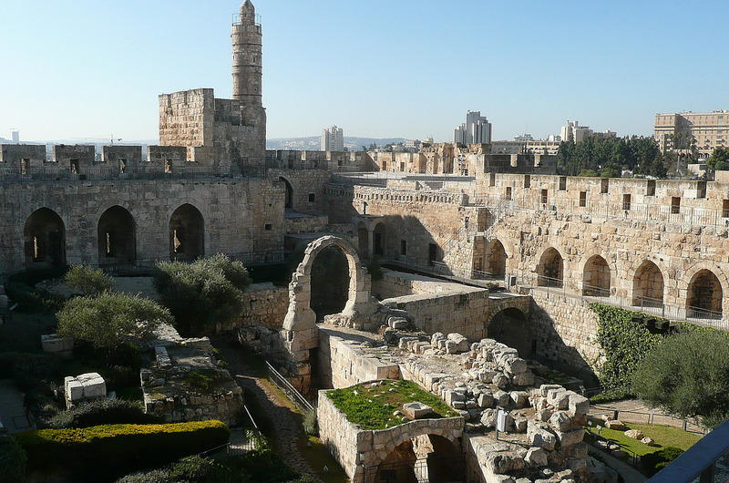 Tower of David Museum  - Courtyard