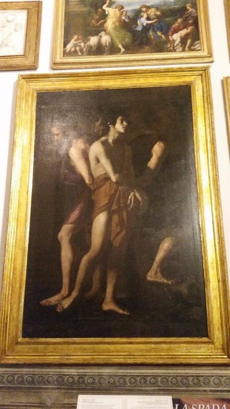 Galleria Spada - Caravaggio??