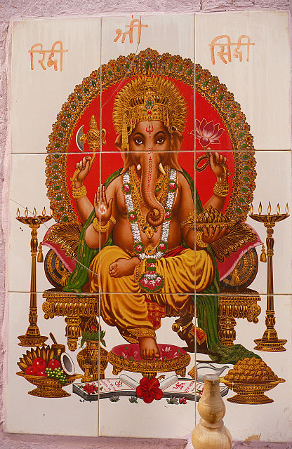 Ganesh - symbol of peace and love