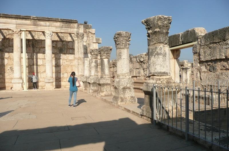 Ancient Synagogue at Capernaum