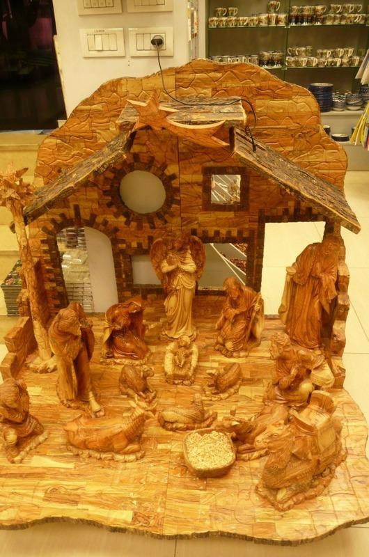 Rosewood Nativity Scene for sale