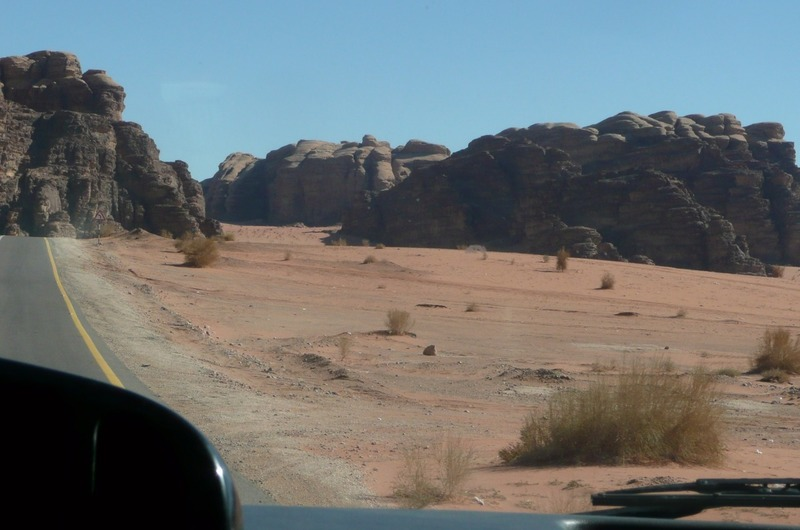 Into the desert we go...