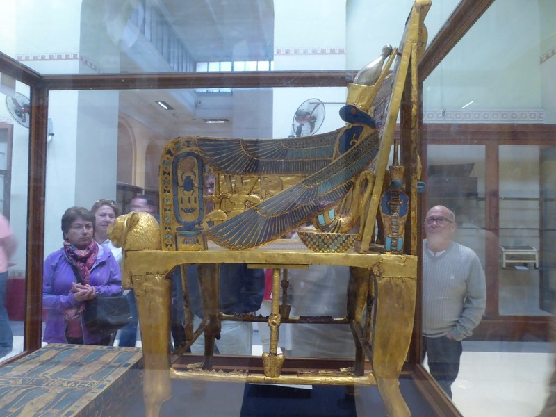 Tutankhamen's throne