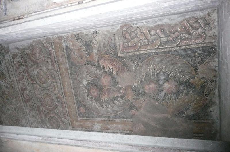 Mosaic floors being restored