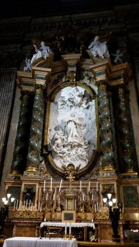 Chapel of Saint Luis Gonzaga - St. Ignazio di Lorenzo