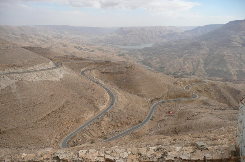 The road from Mt. Nebo