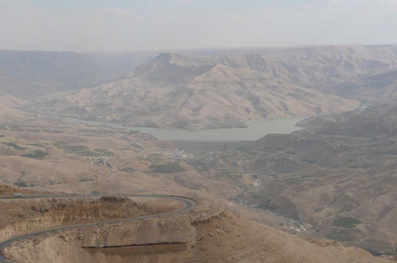 View of the Jordan River