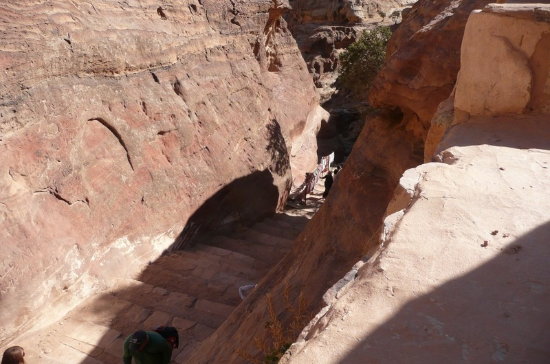 The 'side walk' up to the Monastery
