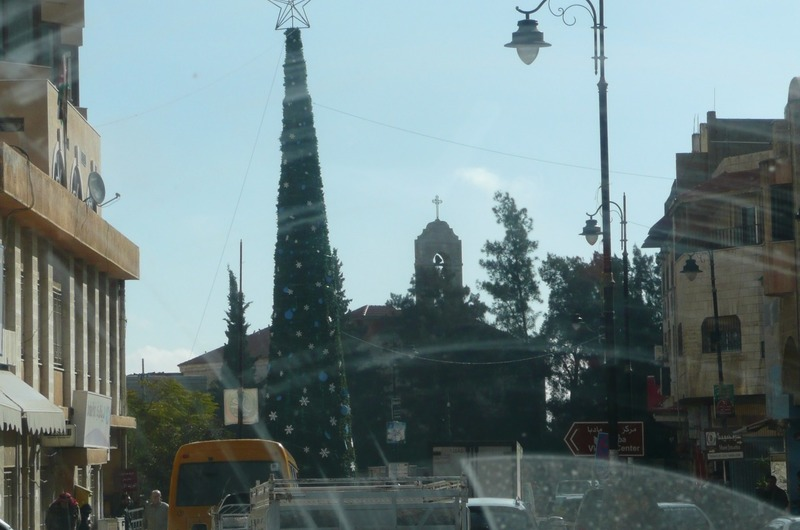 Madaba town square