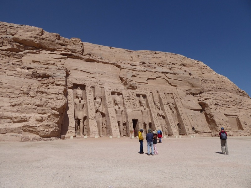 Entrance to Queen Nefertaris' Temple