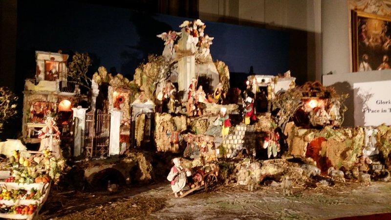 Nativity at Chiesa di Sant'Ignazio di Loyola