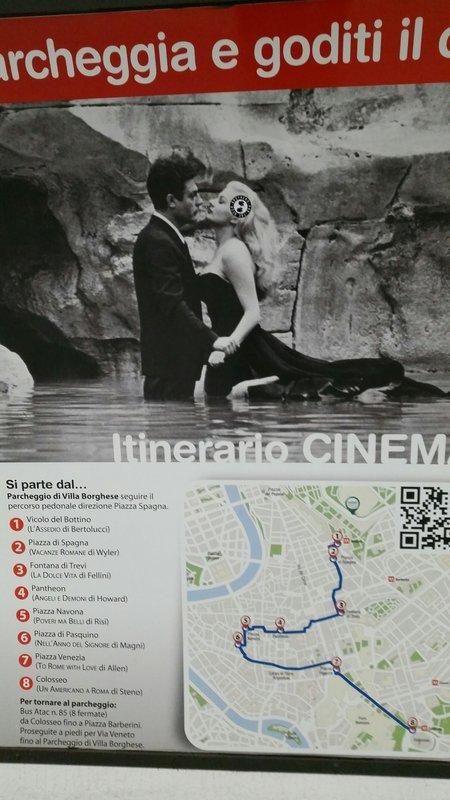 Poster in Metro Walkway