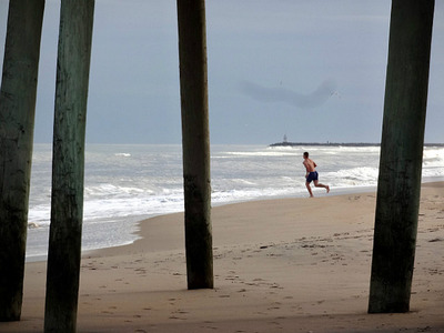 Running to Atlantic