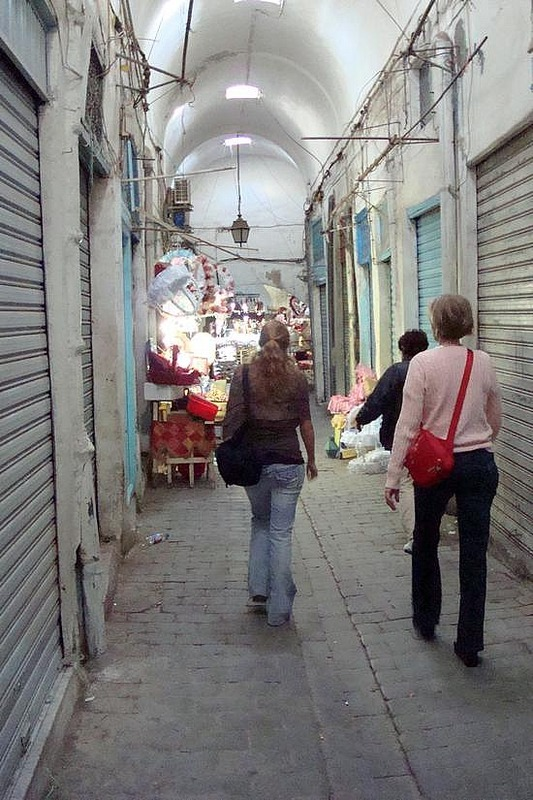 Negotiating the Souk on Holiday