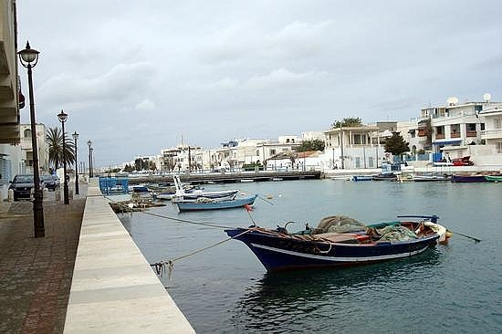 La Goulette Canal and Boats