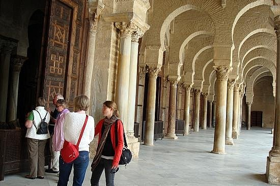 Mosque Corridor
